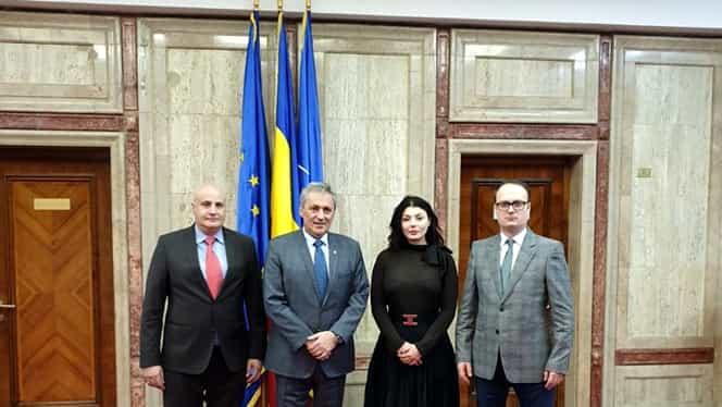 Ministrul Internelor, Marcel Vela, întâlnire de lucru cu Alexandru Cumpănașu: Patru proiecte propuse de fostul candidat la prezidențiale