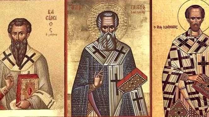 Rugăciunea puternică ce trebuie rostită azi, de Sfinții Trei Ierarhi