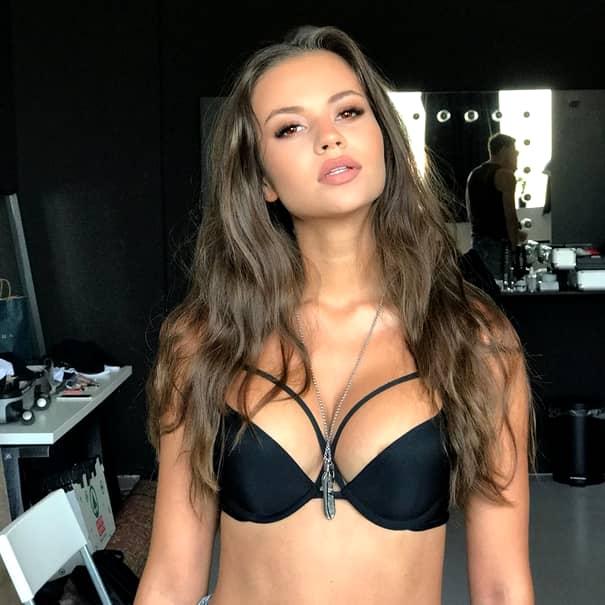 Mihnea Grigoriu, fostul iubit al Alexandrei Becali, într-o relație cu supermodelul Denisa Hodișan