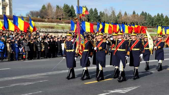 Parada de 1 Decembrie. Câți militari vor defila la Arcul de Triumf
