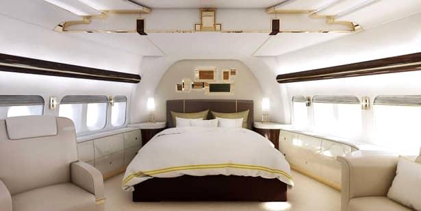 Lux cum nu îţi imaginezi! Cum arată avionul lui Donald Trump de 100 de milioane de dolari. GALERIE FOTO