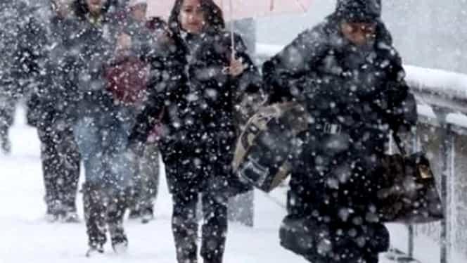 Prognoza meteo 24 februarie. Ninsorile revin în toată ţara