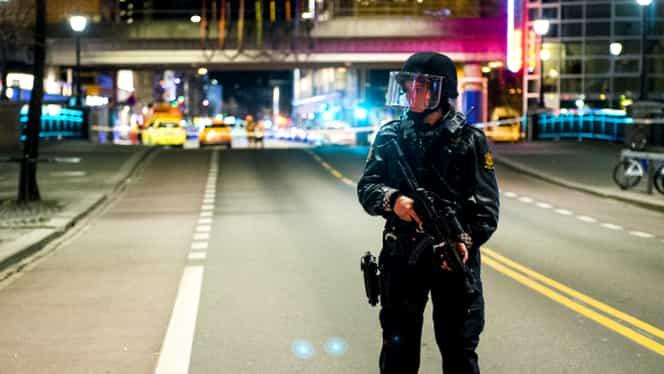 Panică la Oslo! Un tânăr a început să tragă la nimereală în oameni