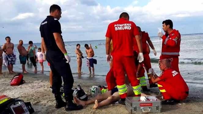 Un bărbat a dispărut în valurile mării! Stare de alertă la Mangalia