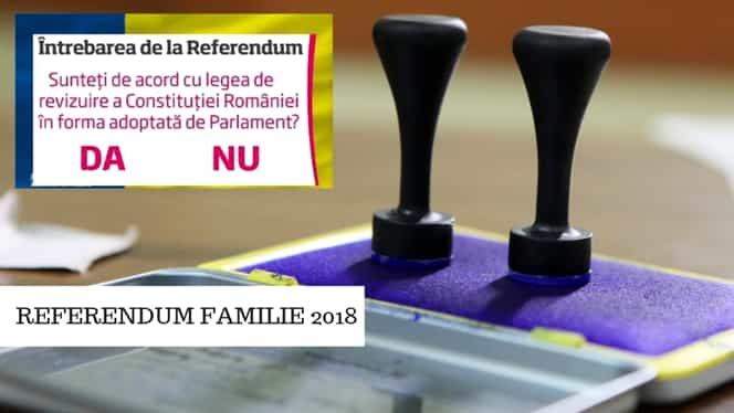 EXIT-POLL referendum pentru familie, ora 12.00: ce votează românii