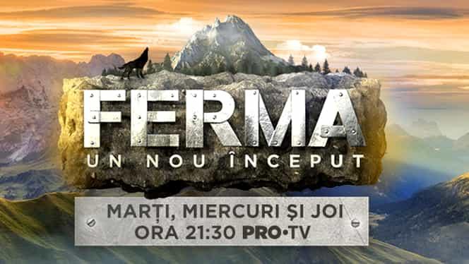 Emisiunea Ferma Live pe Pro TV –  Ediţia de miercuri, 22 mai