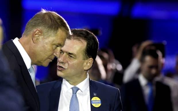 """Klaus Iohannis, mesaj ferm pentru Ludovic Orban! """"Mă aștept să luați din prima zi în mână aceste chestiuni"""""""