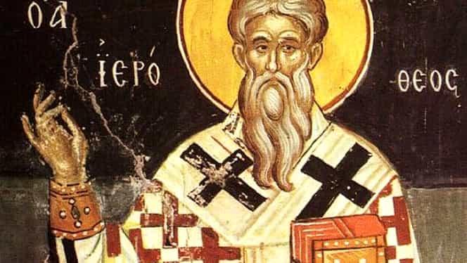 Calendar ortodox, 4 octombrie: pomenirea preacuviosului părinte Ierotei