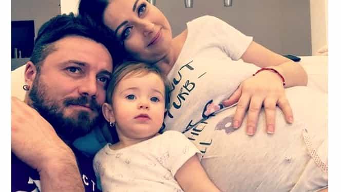 Gabriela Cristea a născut la același spital ca Andreea Bălan! Câte nume va avea fetița