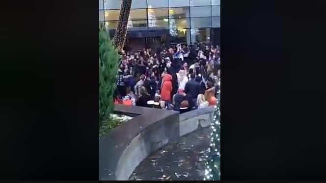 Primele imagini de la Sun Plaza. Mall-ul din Berceni a luat foc în duminica alegerilor