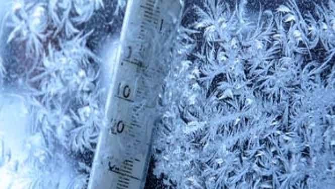 Ger năprasnic în judeţul Suceava! ANM anunţă că au fost -21 de grade Celsius!