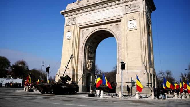 Parada de 1 decembrie: 4000 de militari, dintre care 500 din 21 de țări, vor defila la București de ziua națională a României