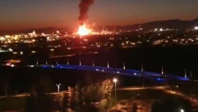 Explozie în Spania într-o regiune cu români! Un om a murit. VIDEO