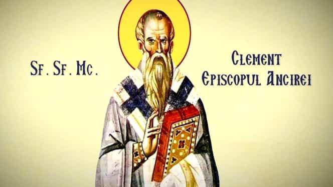Calendar ortodox 23 ianuarie. Sfântul Mucenic Clement, episcopul Ancirei