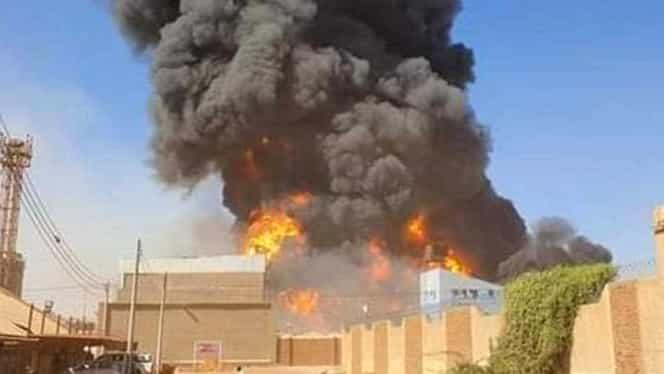 Explozie într-o fabrică din Sudan! 23 de morți și peste 130 de persoane rănite