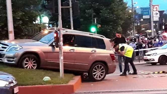 Accident grav în Capitală! O mașină a intrat în pietoni