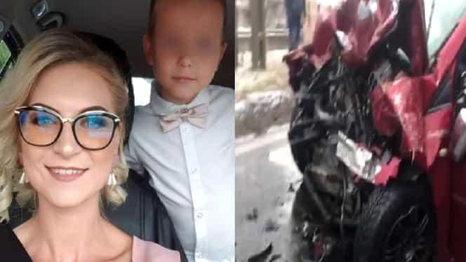 Accident grav în Bacău: o mamă și copilul ei de cinci anișori au decedat pentru că un șofer nu circula regulamentar