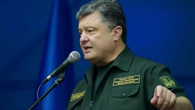 Stare de război în Ucraina! Poroşenko a impus legea marțială după atacul Rusiei
