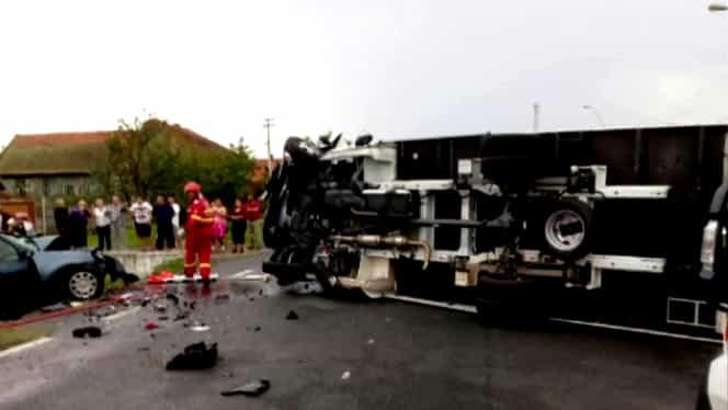 Tragedie în județul Timiș!Trei persoane şi-au pierdut viaţa în urma unui accident