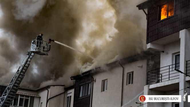 Incendiul din Chiajna a afectat 30 de familii! Unde vor fi cazaţi după ce au rămas fără locuinţe