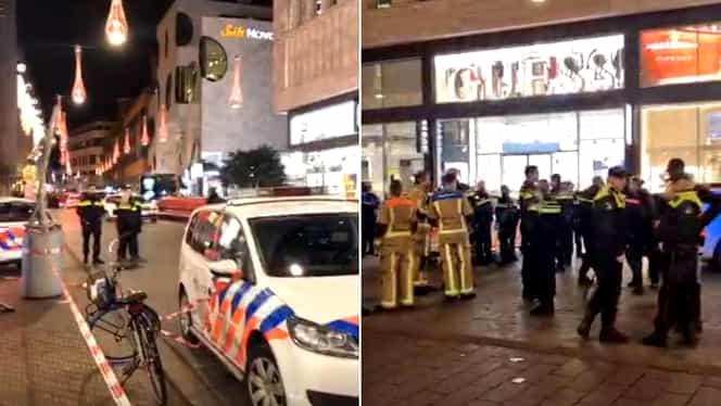 Atac armat în Olanda. Un bărbat a înjunghiat mai multe persoane în Haga VIDEO