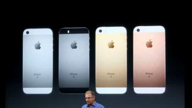 iPhone SE, lansat oficial! Toate detaliile despre specificaţii, disponibilitate şi preţ
