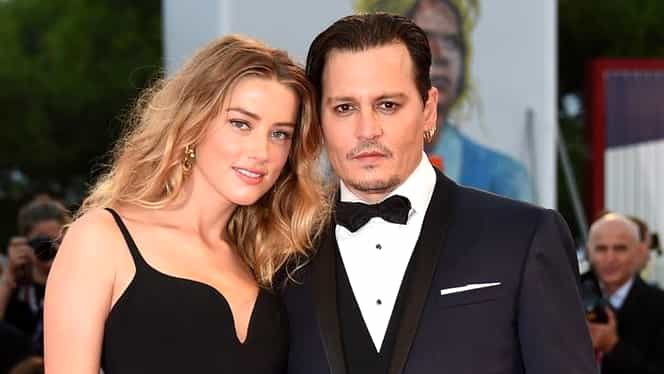 IMAGINI INCREDIBILE. Divorţul dintre Johnny Depp şi Amber Heard s-a lăsat cu BĂTAIE!