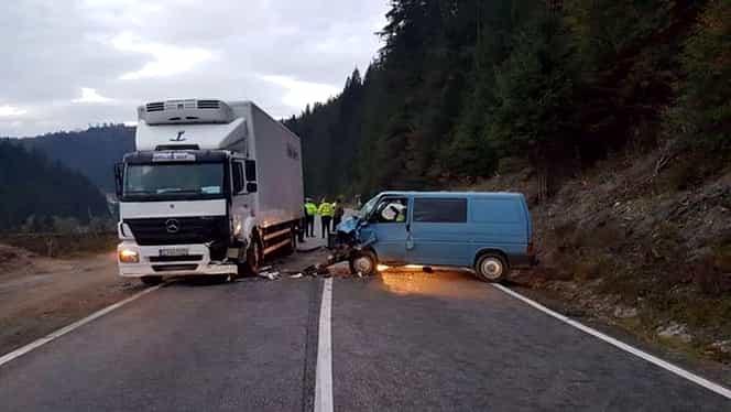 Accident rutier grav în judeţul Neamţ. A fost activat planul roşu de intervenţie
