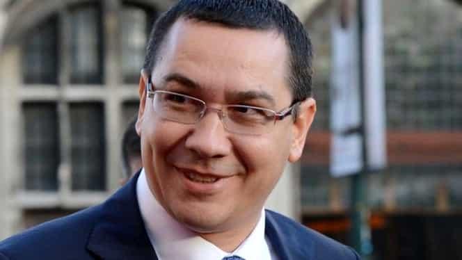 Victor Ponta, reacție după schimbarea lui Liviu Dragnea din funcție