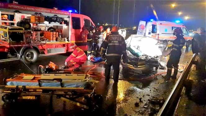 Grav accident de circulație, la Ovidiu, județul Constanța. Două femei și o fetiță de 3 ani au murit
