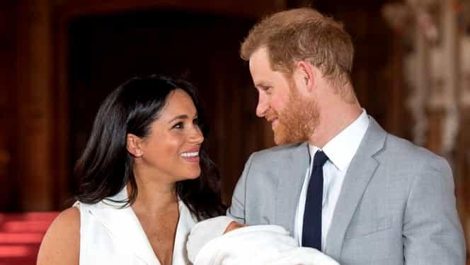 Când va fi botezat Archie, bebeluşul regal! Ce trusou va purta fiul Prinţului Harry cu Meghan Markle