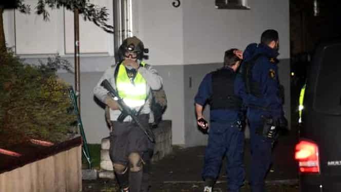 Atac armat în centrul oraşului Trelleborg din Suedia. Poliţia a intervenit în forţă