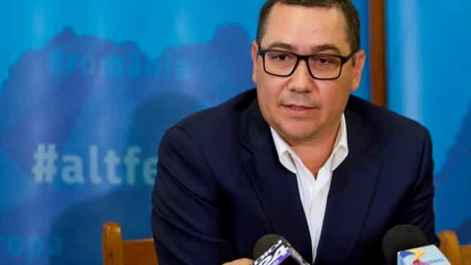 """Victor Ponta, toate cărțile pe față! """"Voturile pentru marioneta Dăncilă au un singur scop. Să asigure victoria lui Klaus Iohannis în turul doi"""""""