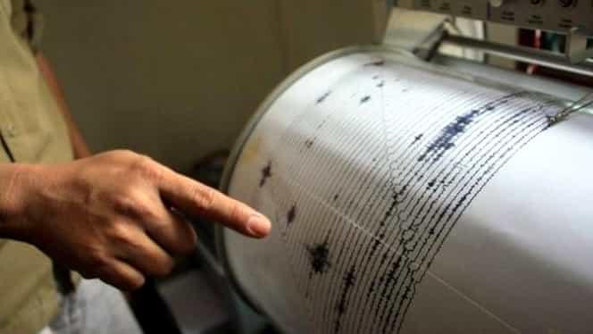 Cutremur în Vrancea, la 76 de kilometri adâncime. Ce magnitudine a avut seismul