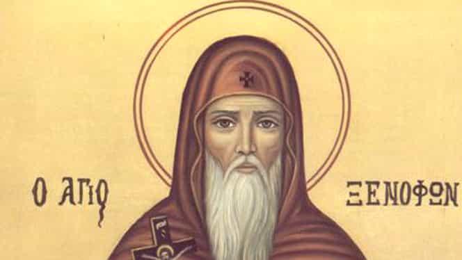 Calendar ortodox 26 ianuarie. Pomenirea cuviosului părinte Xenofont