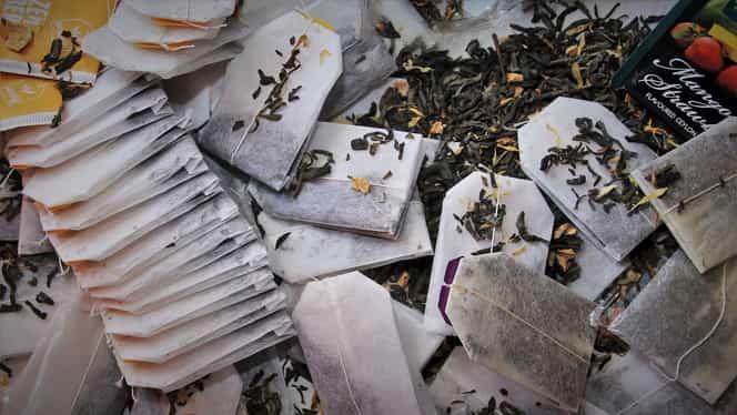 Motivele pentru care ar fi bine să nu mai arunci la gunoi pliculețele de ceai. La ce sunt folositoare