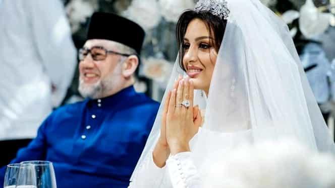 Fostul rege al Malaysiei a divorțat de soția sa, fostă Miss Moscova. Ce a aflat despre femeia care l-a făcut să renunțe la tron