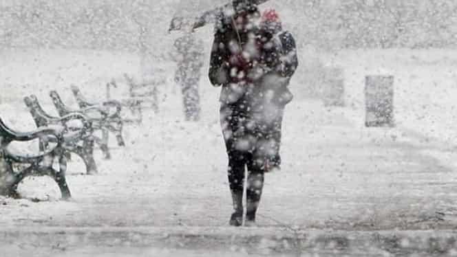 Prognoza meteo 14 februarie. Va ninge pe arii extinse