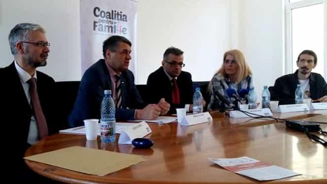Coaliția pentru Familie aduce acuze pentru boicotarea referendumului