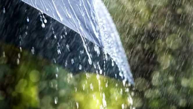 ALERTĂ ANM! Cod galben de ploi în judeţele Constanţa şi Tulcea. Se schimbă vremea în toată țara