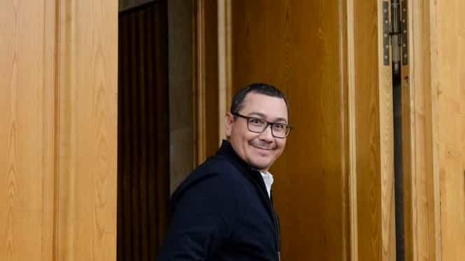 Gafă la Digi 24. Ce a apărut pe ecran în timpul unei intervenţii a lui Victor Ponta