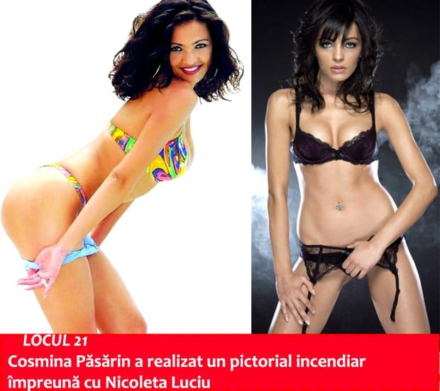 TOP 30 vedete din România care au pozat în revistele pentru bărbaţi