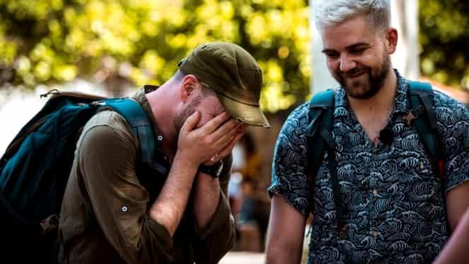 Alex Abagiu şi Radu au fost eliminaţi de la Asia Express Sezon 3. Bontea – Fodor, Speak – Ştefania şi Adda – Cătălin, echipele din finală