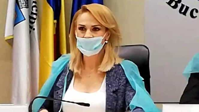 """Gabriela Firea și consilierii PSD au purtat măști și halete să se apere de """"virușii guvernamentali"""". Video"""