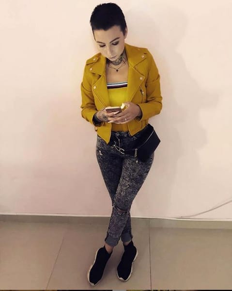 """Sexy-Brăileanca"" de Iași. Sursa foto: instagram.ro"