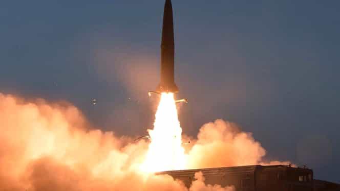 Coreea de Nord a lansat un proiectil neidentificabil în Marea Japoniei. Este a patra astfel de acțiune în luna martie