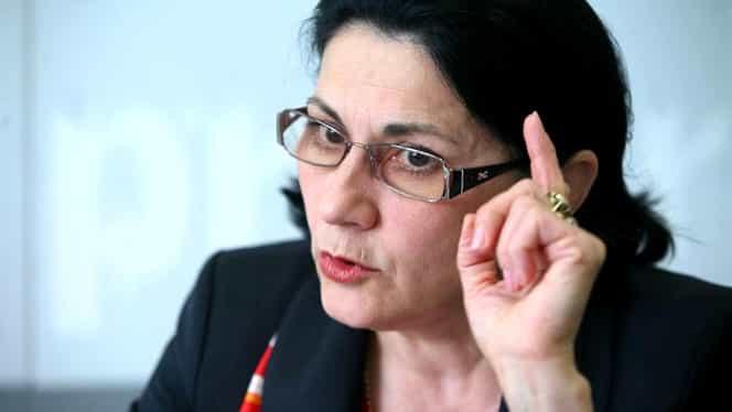 Ecaterina Andronescu amenință că va pleca din țară! Numele său apare într-un scandal