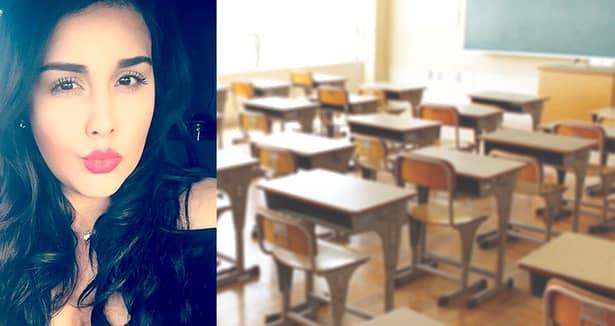 Galerie FOTO. Cum arată profesoara de 24 de ani, condamnată la 10 ani de închisoare după ce A SEDUS un elev. Tînăra a rămas gravidă cu el!
