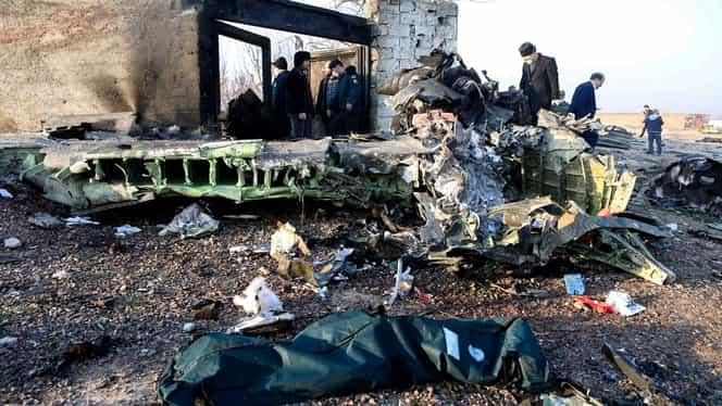 A fost găsită cutia neagră a avionului prăbuşit în Iran! Aparatul de zbor face parte din cea mai răspândită familie de avioane