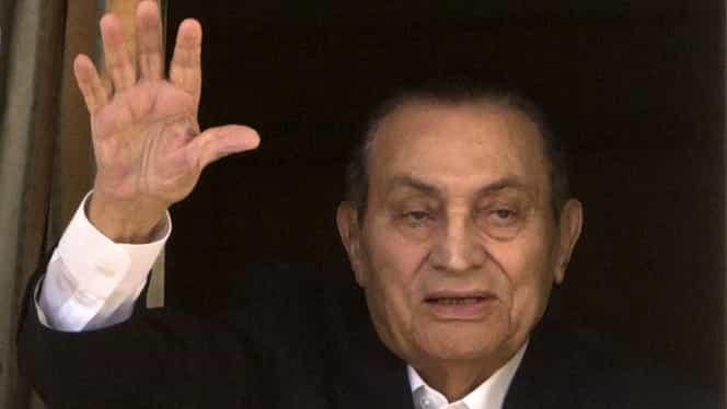 A murit Hosni Mubarak, fostul președinte al Egiptului. Se eliberase din închisoare de 3 ani